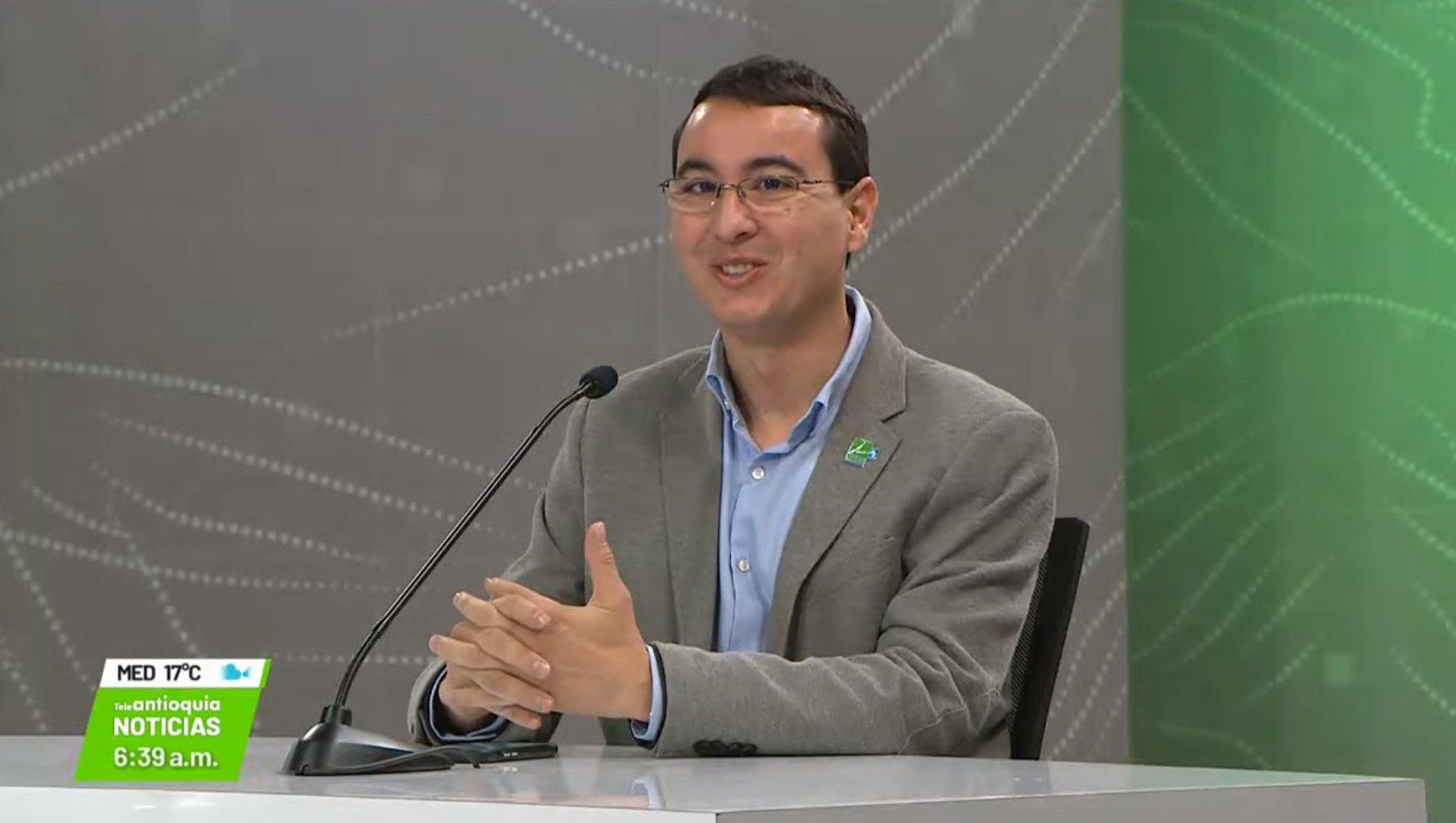 Entrevista con Juan David Palacio Cardona, director del Área Metropolitana