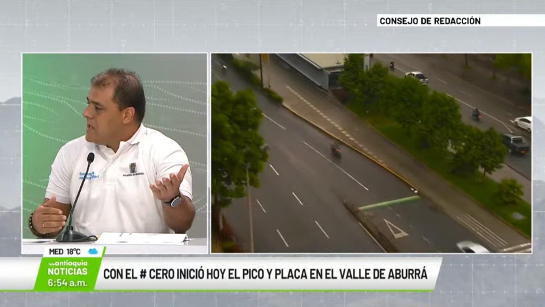 Entrevista con Víctor Hugo Piedrahíta, subsecretario técnico de movilidad