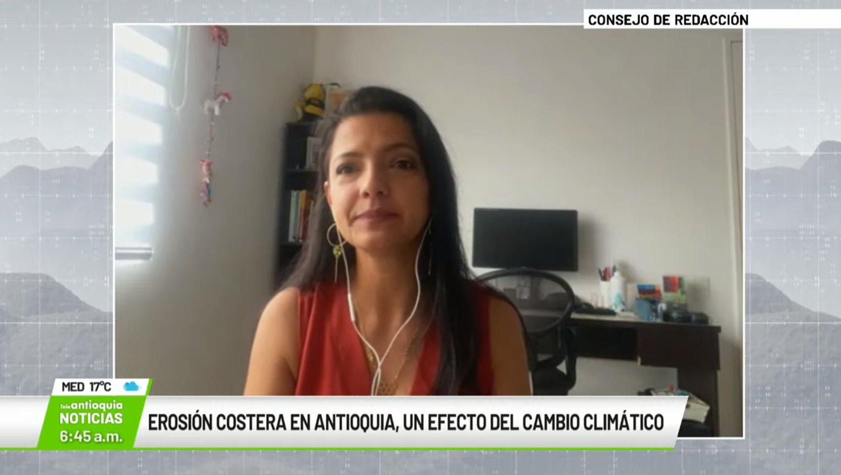 Entrevista con Yuley Cardona Orozco, experta en cambio climático