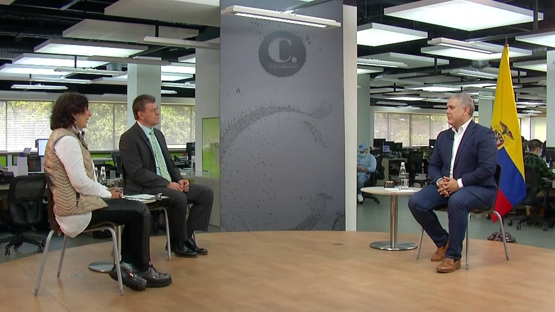 #EspecialesTA en unión con El Colombiano: entrevista al presidente Iván Duque.