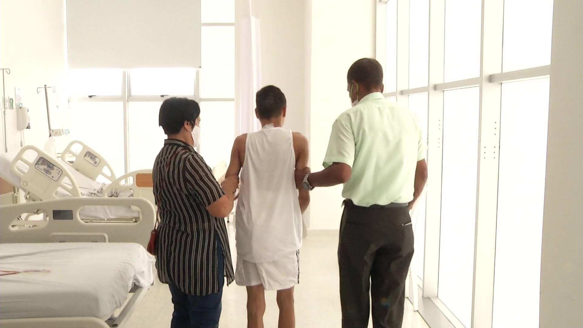 Exitosa operación de enfermedad congénita en La María