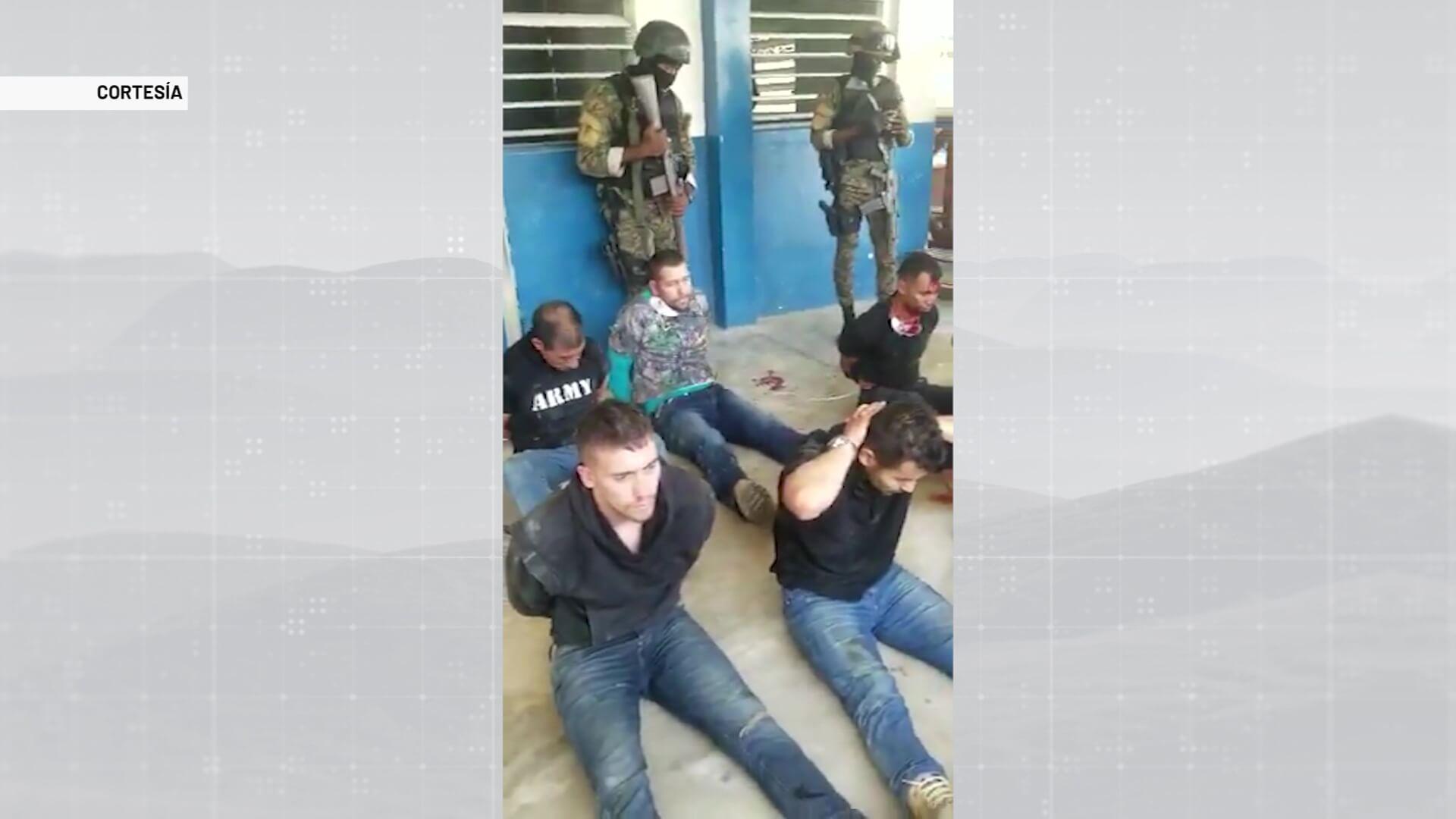 Exmilitares retenidos en Haití denuncian torturas