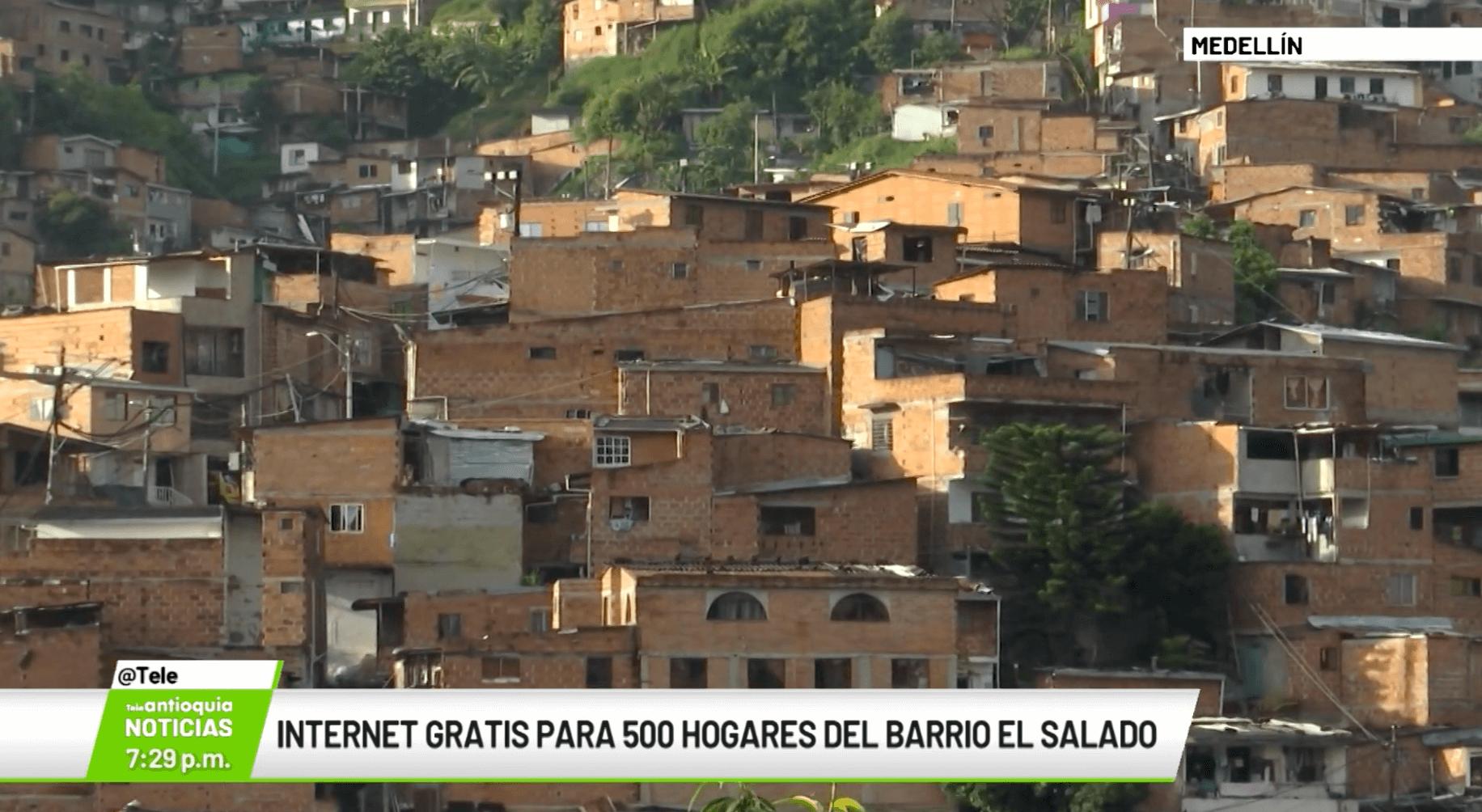 Internet gratis para 500 hogares del barrio El Salado