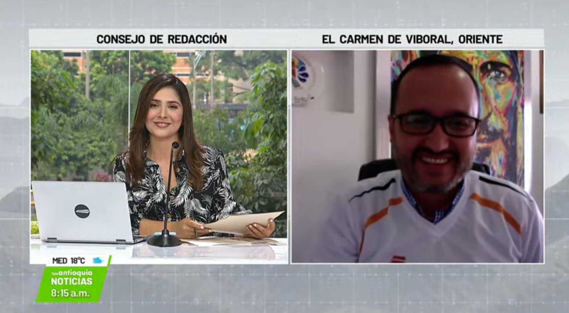 Entrevista con John Fredy Quintero Zuluaga, alcalde de El Carmen de Viboral