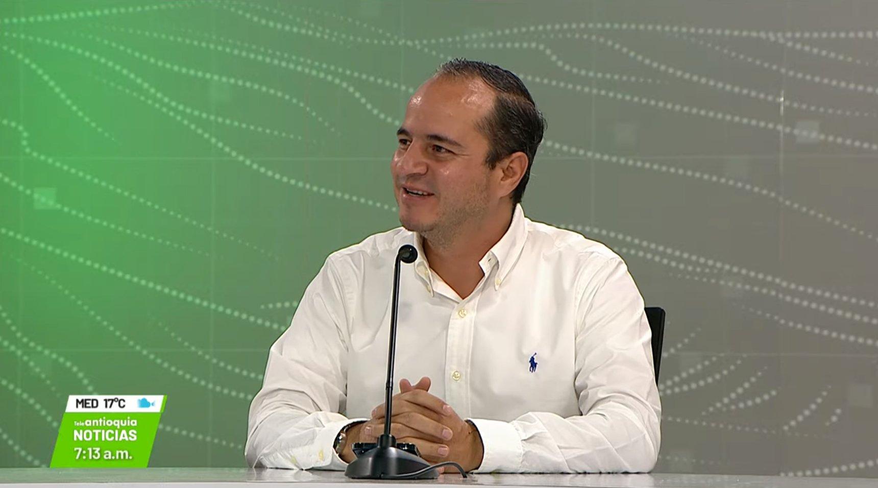 Juan Fernando Espinal Ramírez, representante a la Cámara por Antioquia