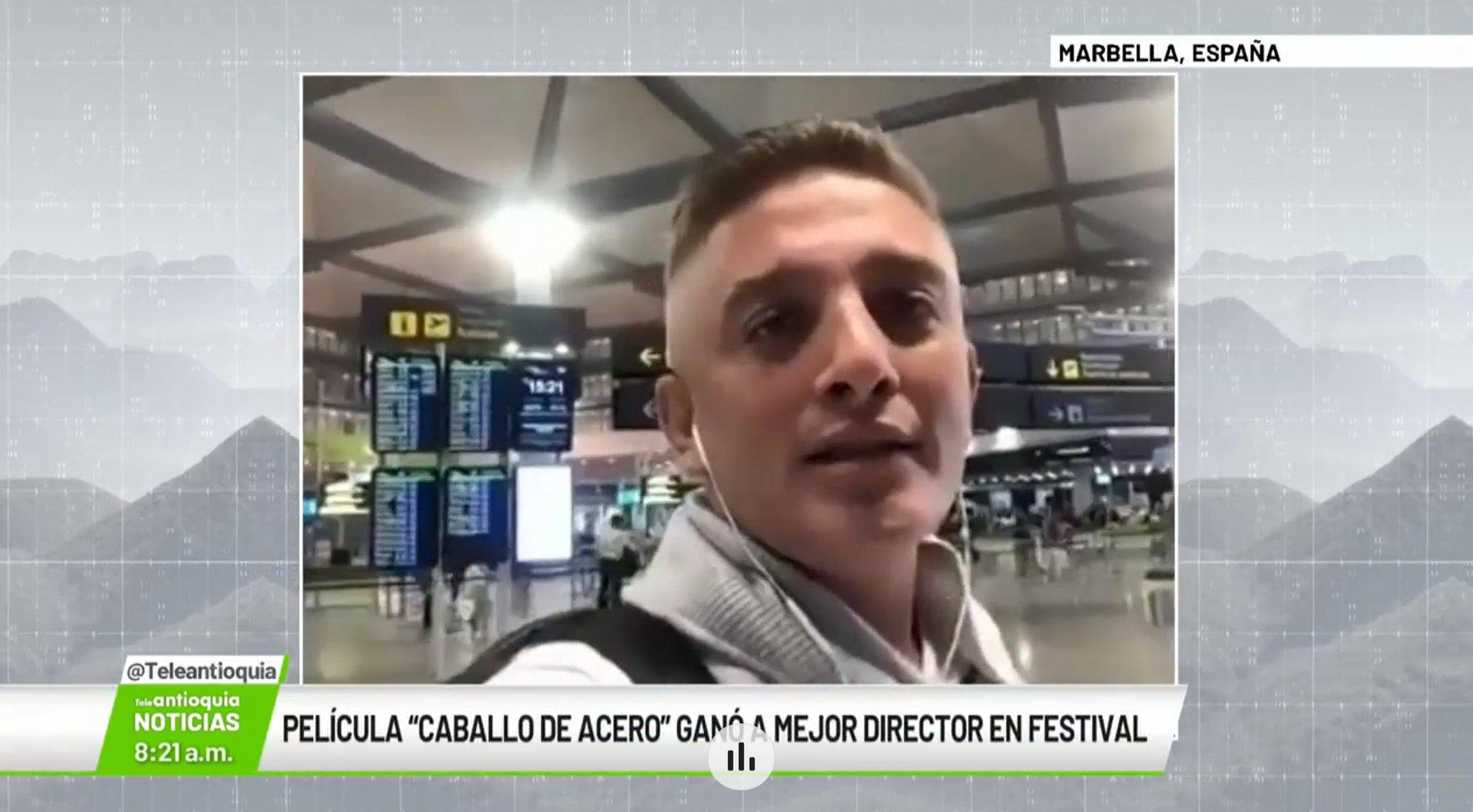 """Entrevista con Luis Carlos Londoño, director de la película """"Caballo de Acero"""""""
