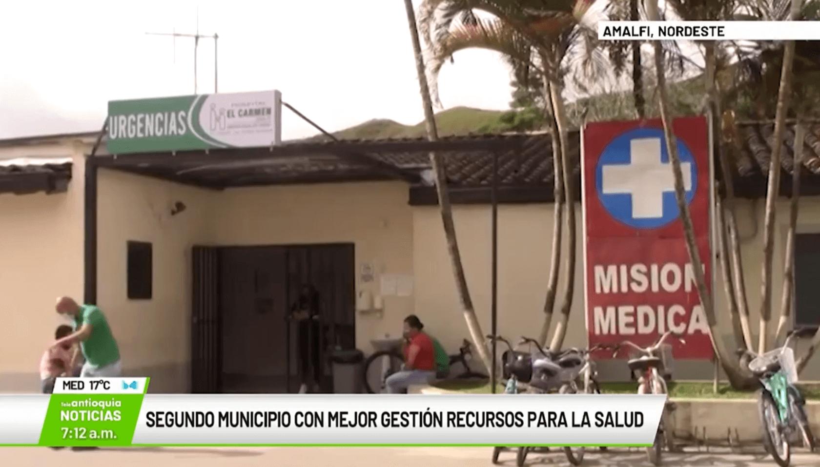 Segundo municipio con mejor gestión en recursos para la salud