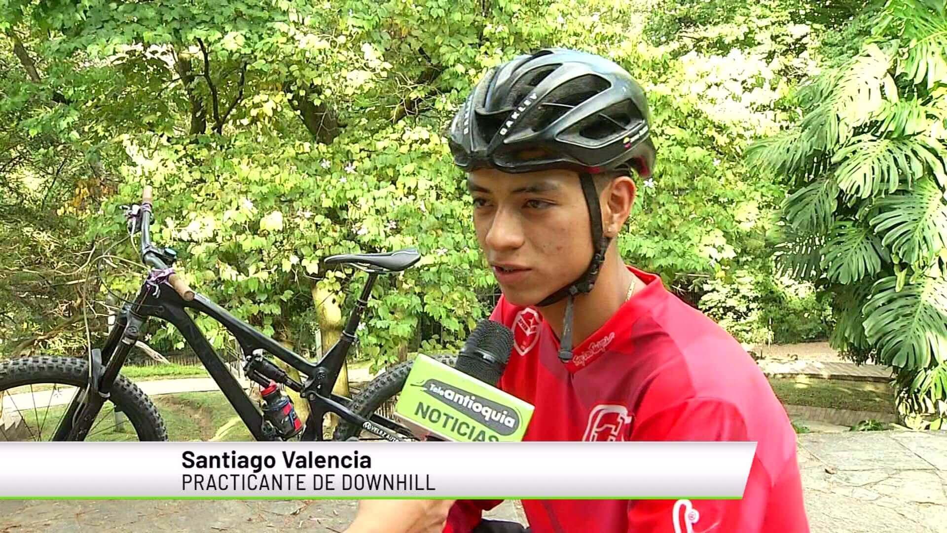 Talento antioqueño recauda recursos para representar al país en Downhill