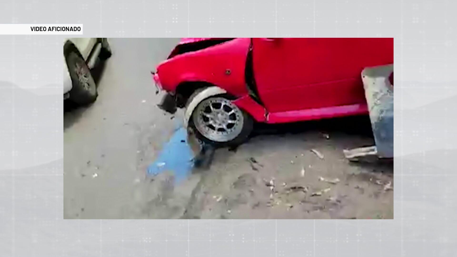 Un motociclista falleció en autopista Medellín-Bogotá