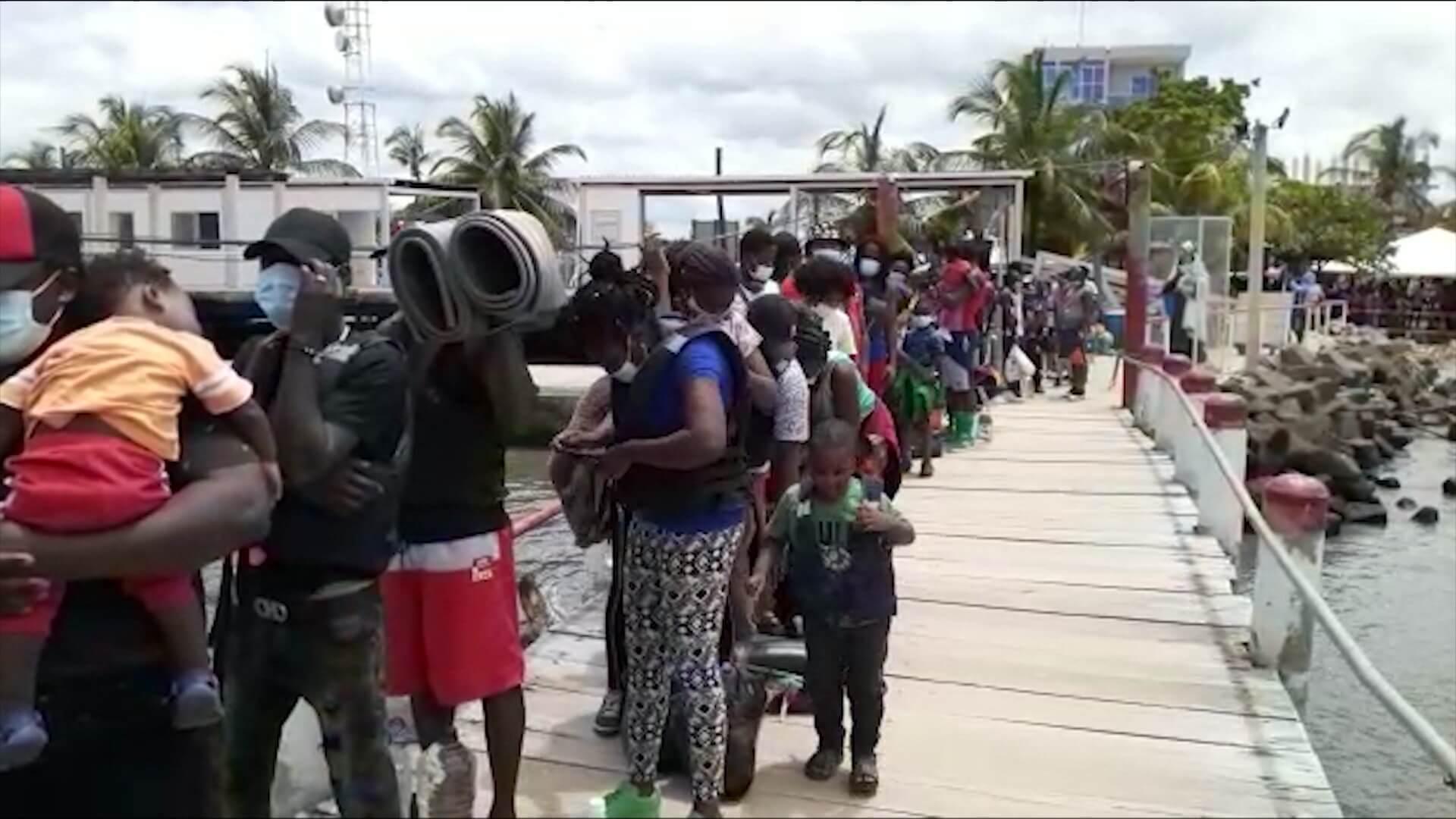 Ya serían 19 mil los migrantes acumulados en Necoclí