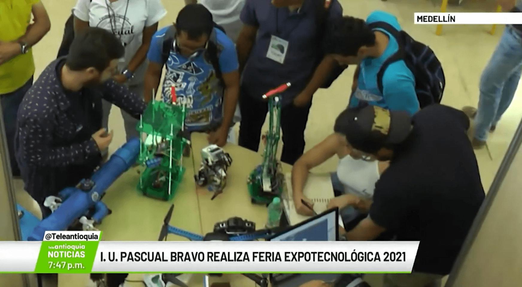I.U. Pascual Bravo realiza Feria Expotecnológica 2021