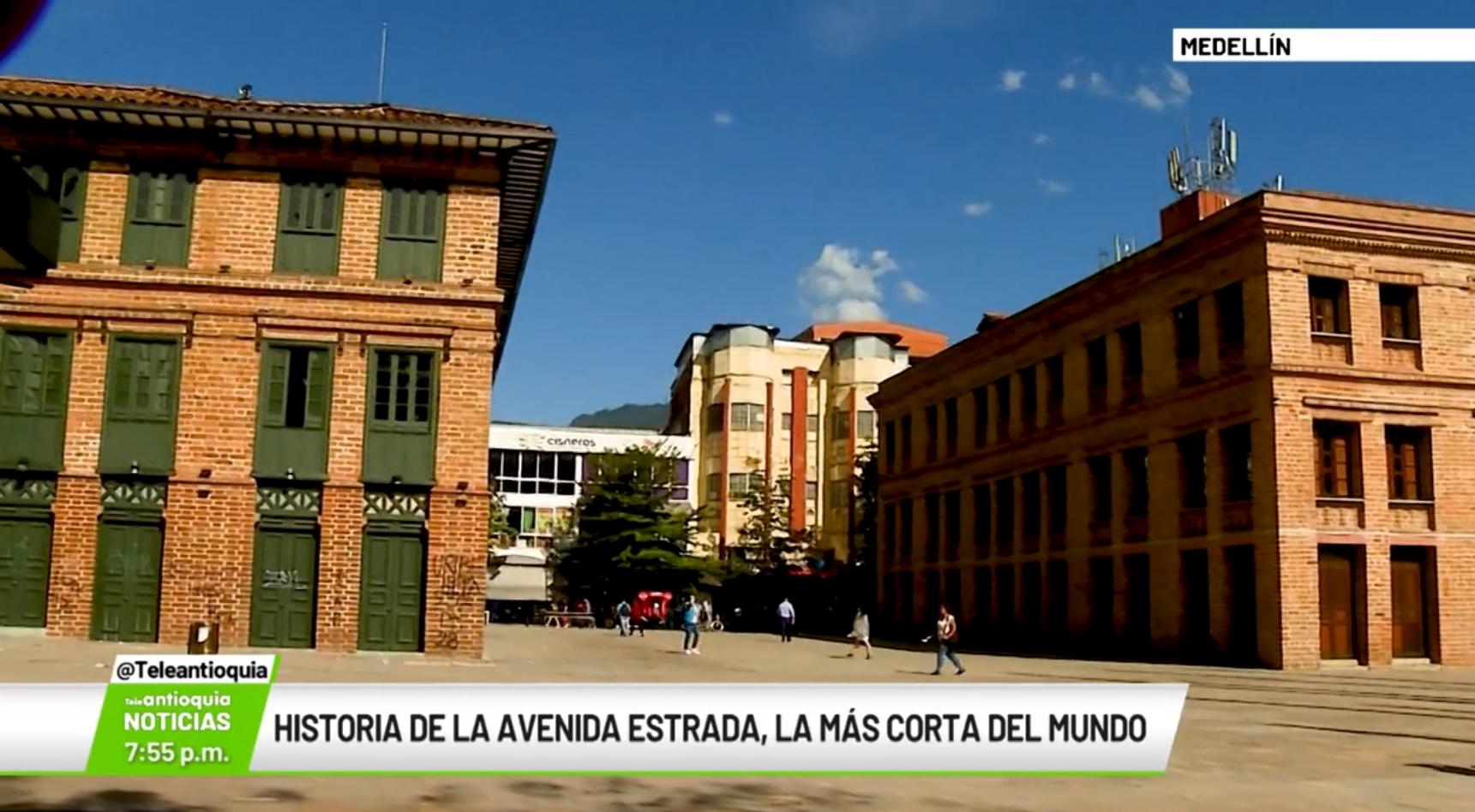 Historia de la Avenida Estrada, la más corta del mundo