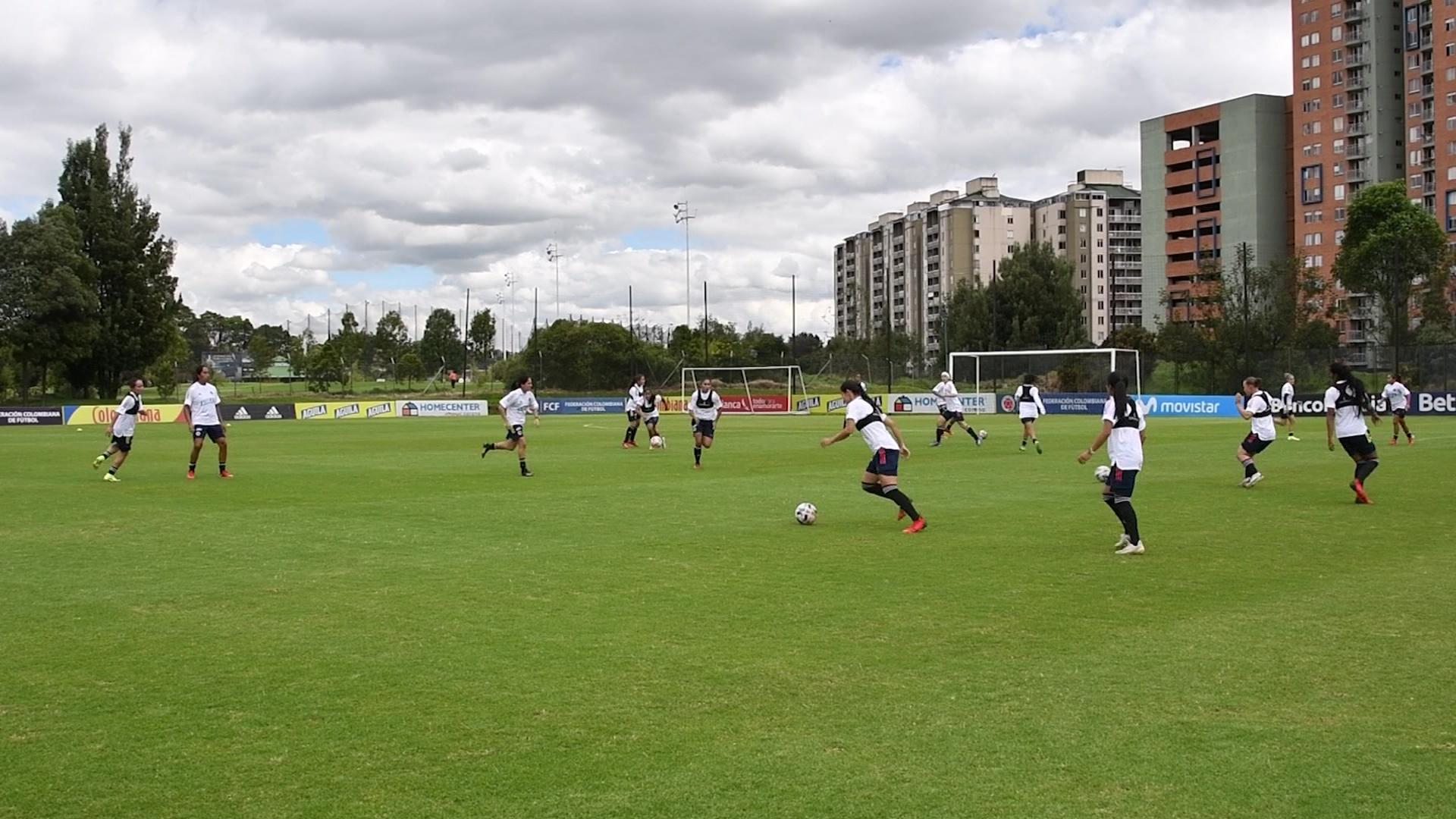 Campeonas de la liga se concentraron  en Colombia