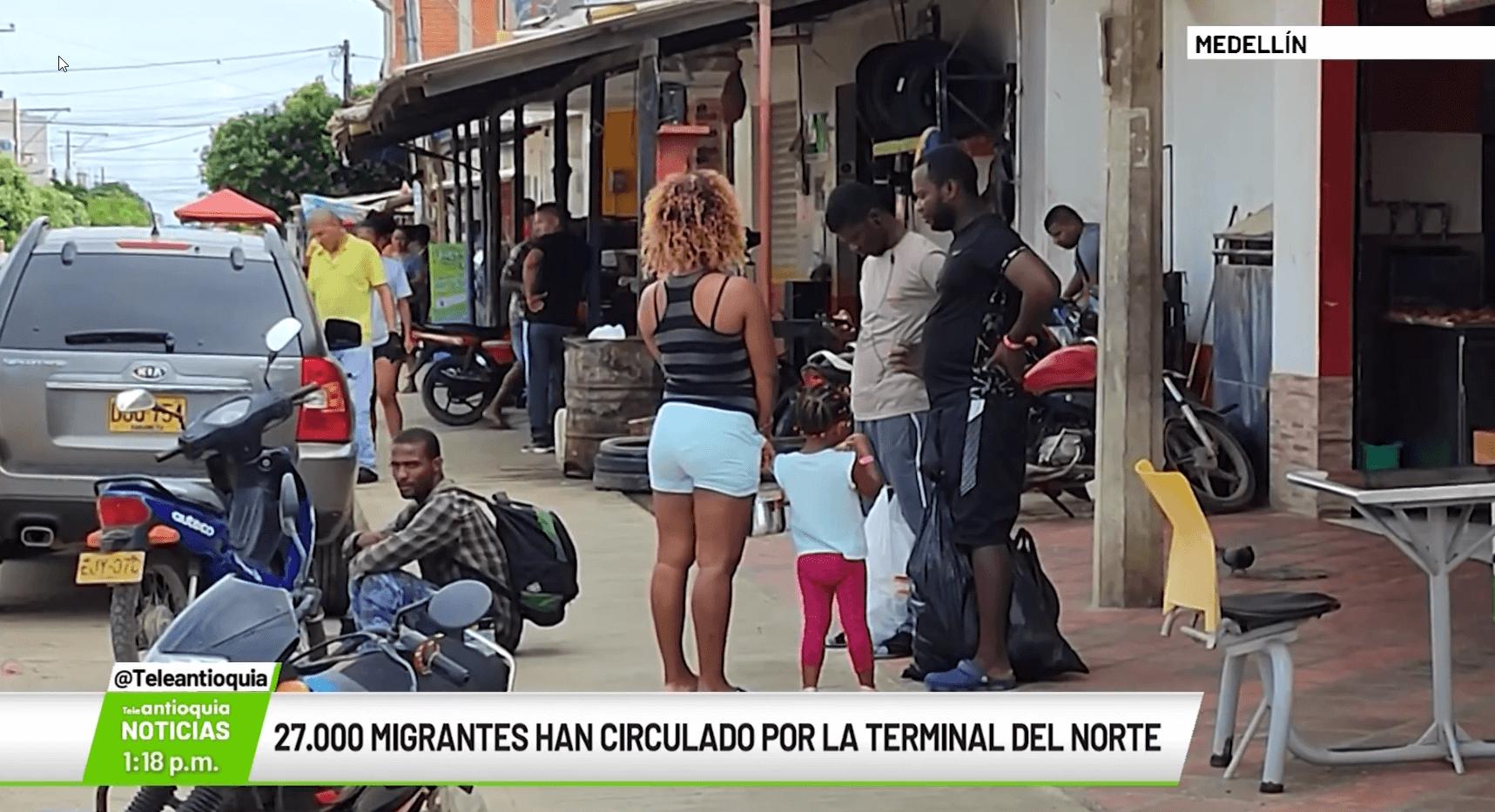 27.000 migrantes han circulado por la Terminal del Norte