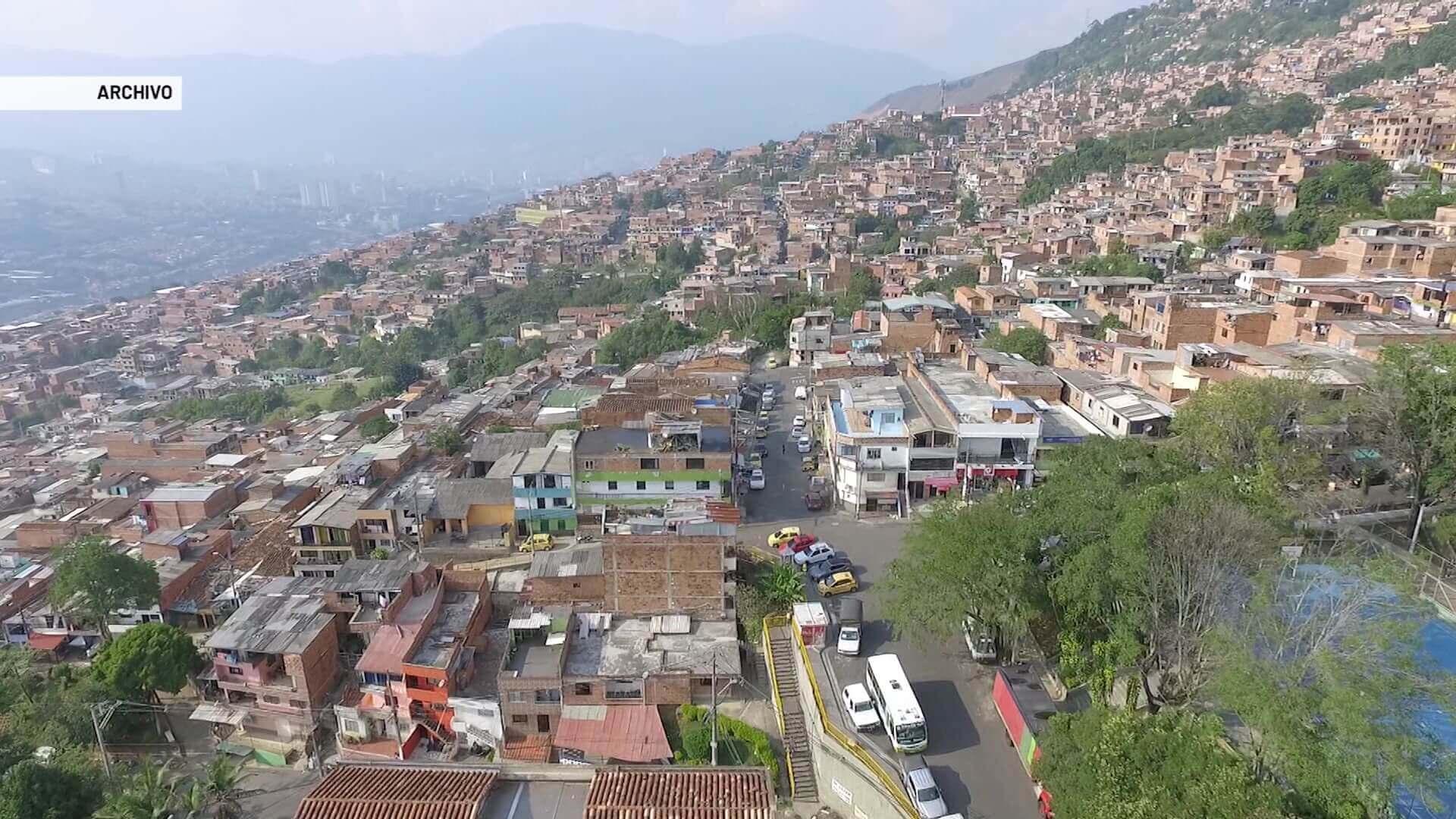 Alerta por aumento del desplazamiento en Medellín
