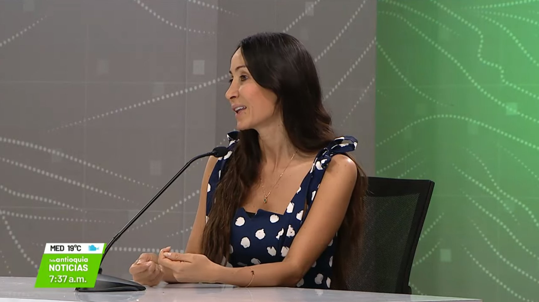 Entrevista con Ana Ligia Mora, directora de Corantioquia