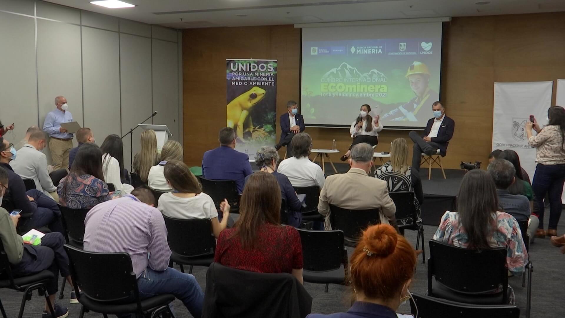 Antioquia sede de Cumbre Internacional 'Ecominera 2021'