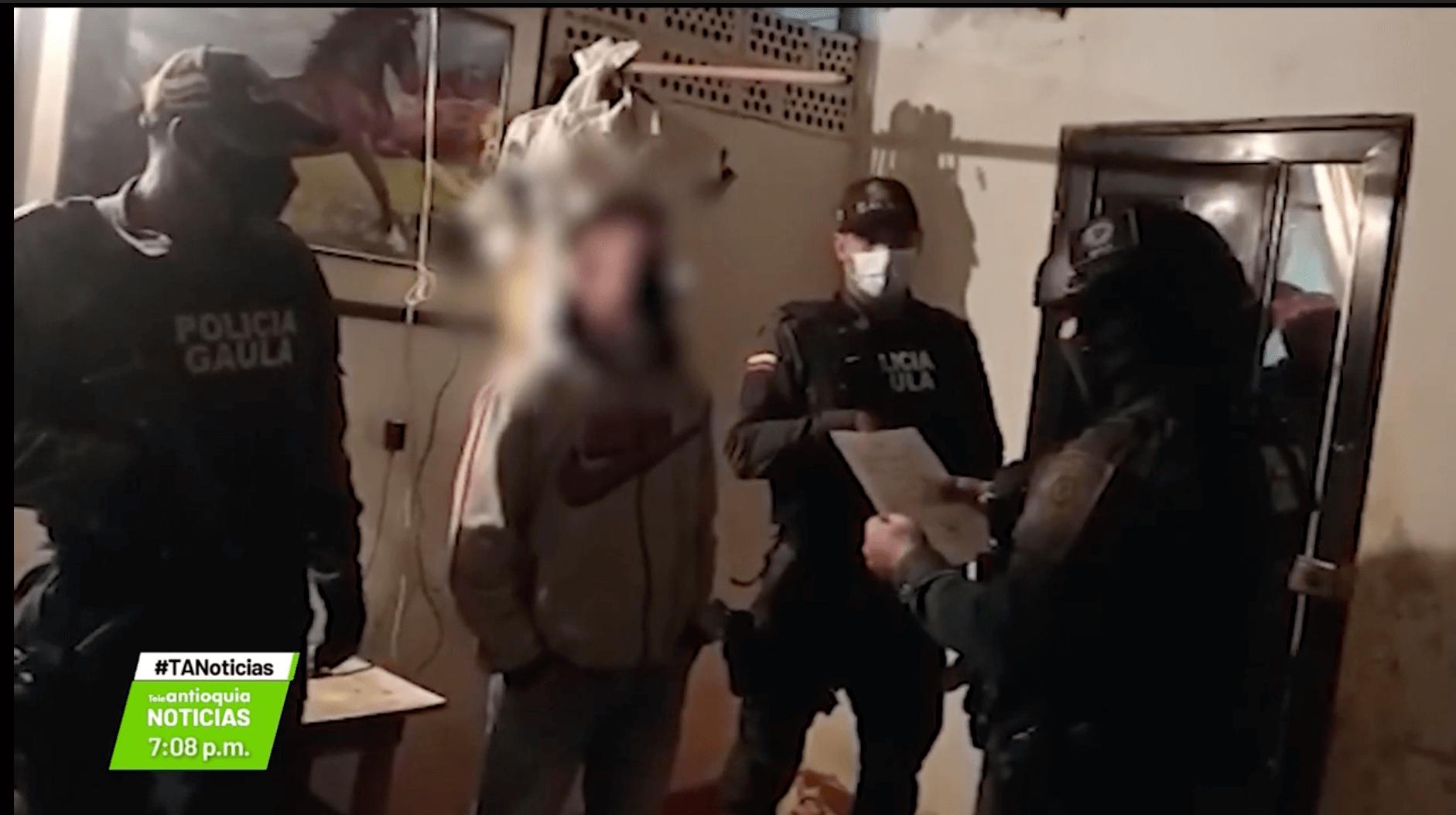 Cinco capturados por tráfico de estupefacientes