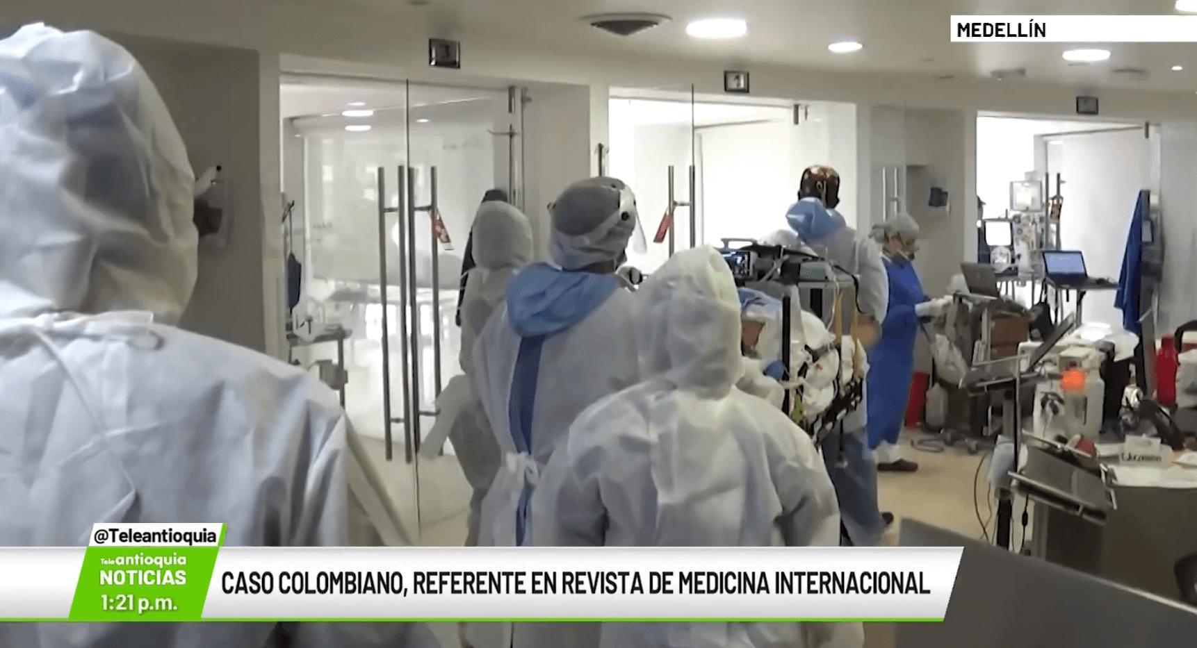 Caso colombiano, referente en revista de medicina internacional