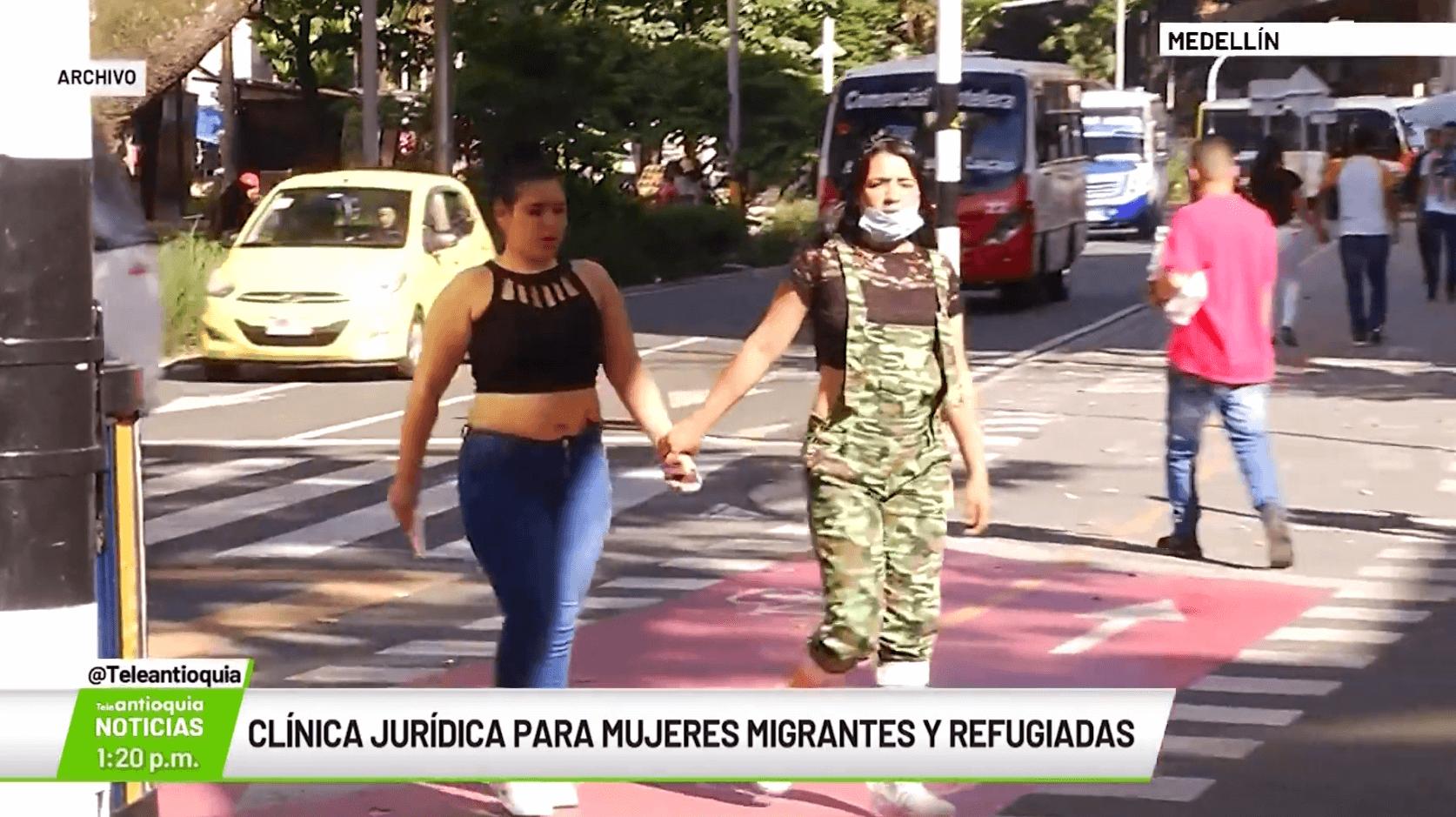 Clínica Jurídica para mujeres migrantes y refugiados