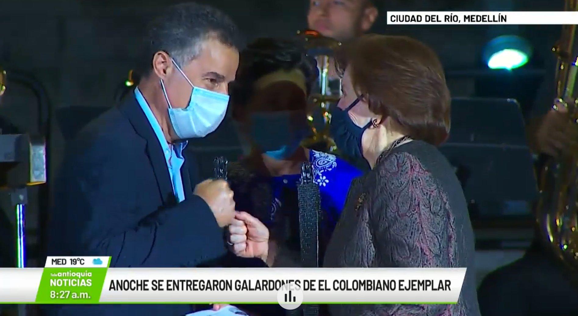 Anoche se entregaron los galardones de El Colombiano Ejemplar