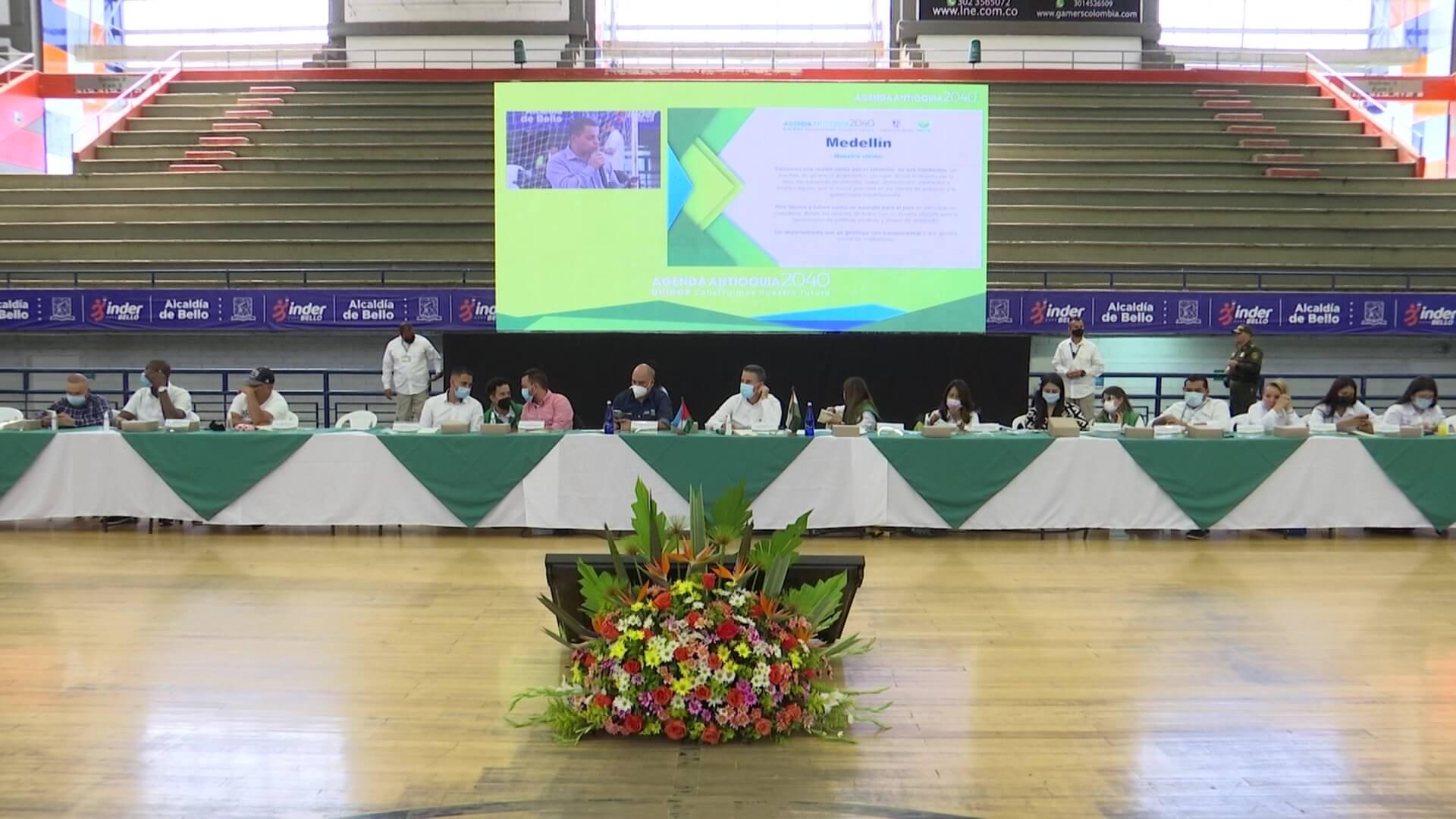 Concluyeron encuentros zonales en Antioquia 2040