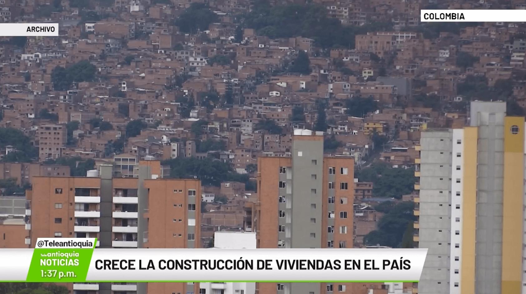 Crece la construcción de viviendas en el país