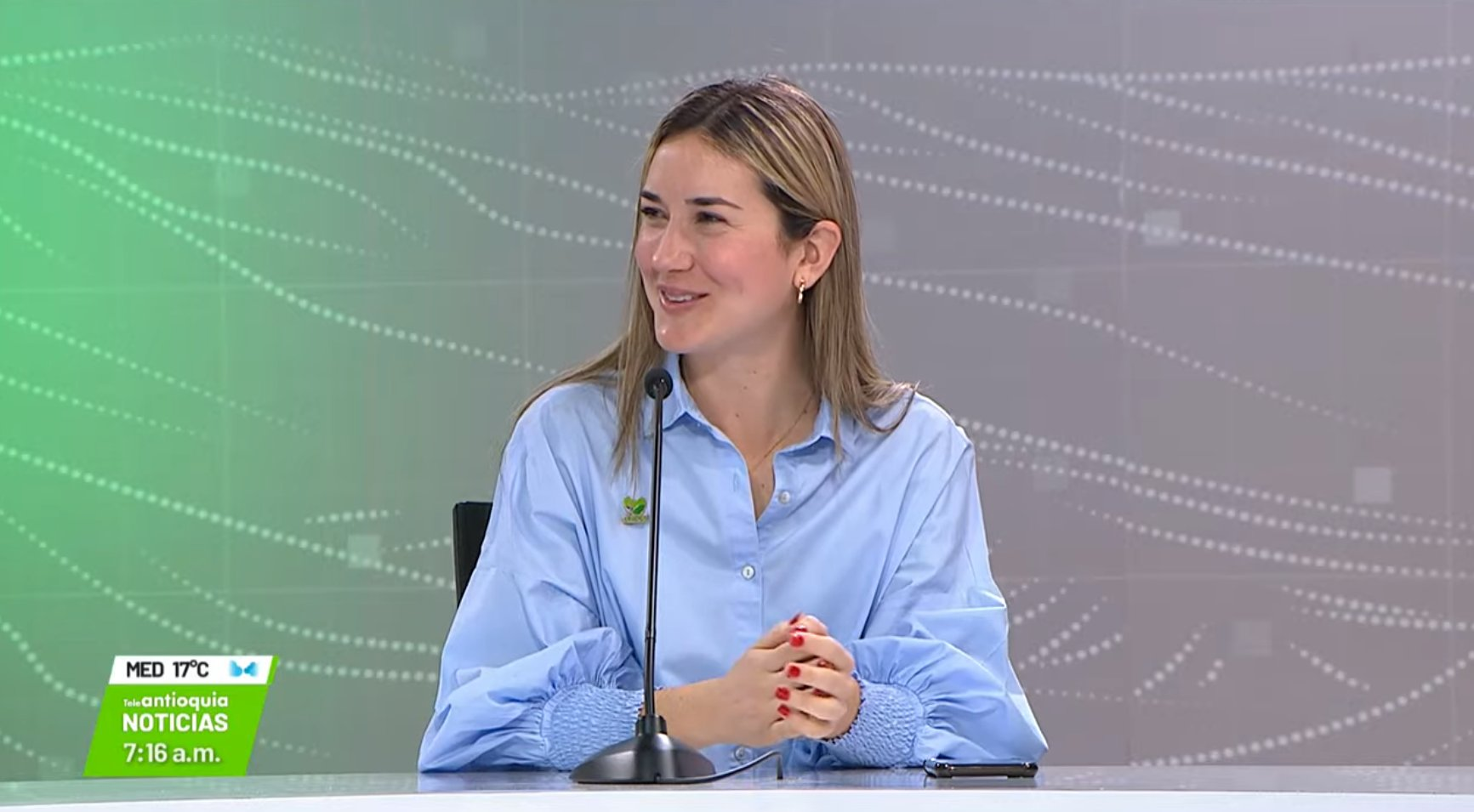 Entrevista con Daniela Trejo Rojas, secretaria de desarrollo económico Gobernación de Antioquia