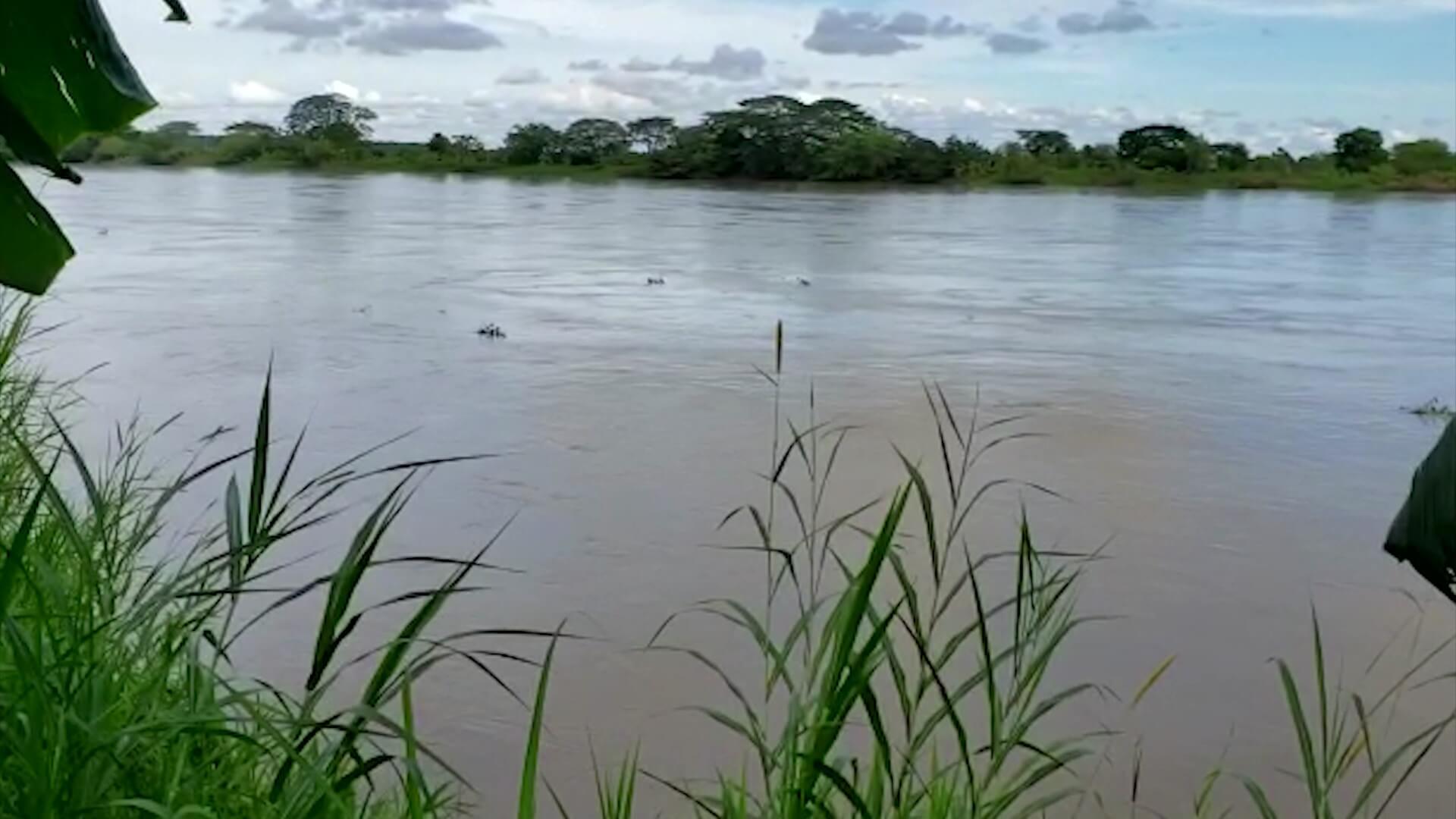 El río Nechí se convierte en cementerio