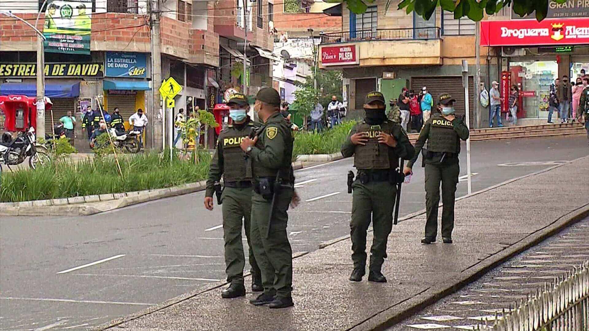 Hay 5.600 policías para 100 municipios antioqueños