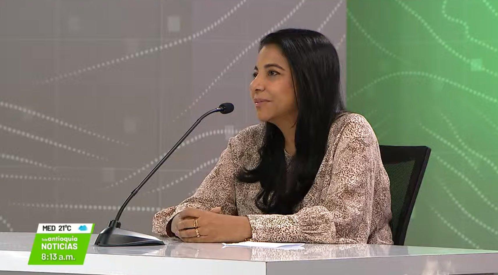 Entrevista con Mabel Astrid Moscote, gerente de Telecaribe