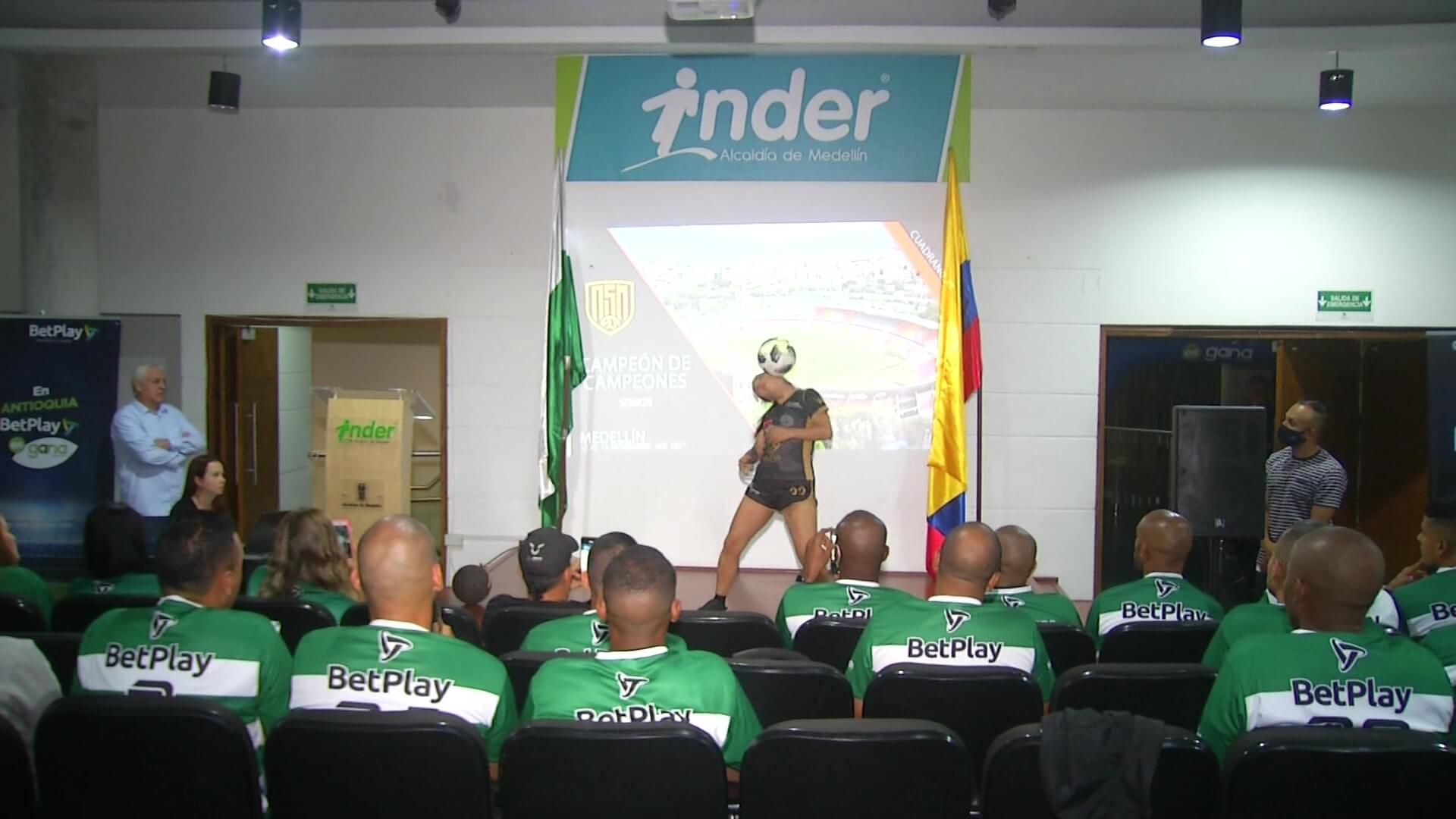 Medellín sede nacional Senior Master de Fútbol