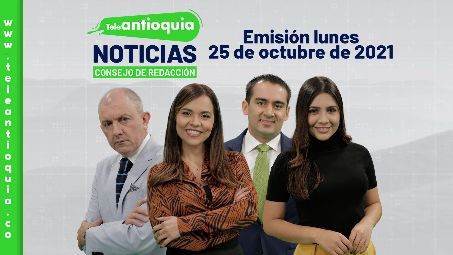 Consejo de Redacción - lunes 25 de octubre de 2021