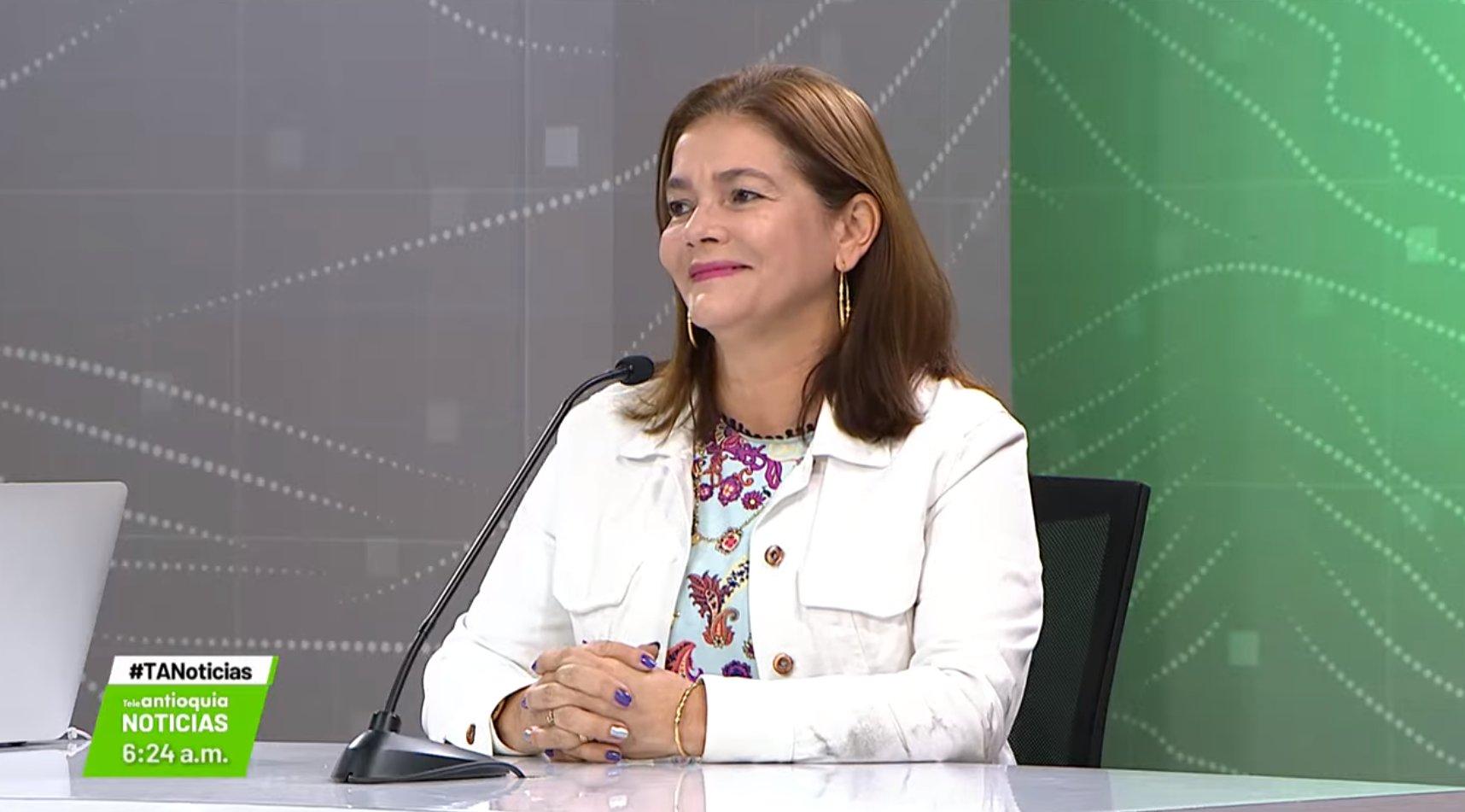 Entrevista con Selma Roldán Tirado, directora regional Antioquia ICBF