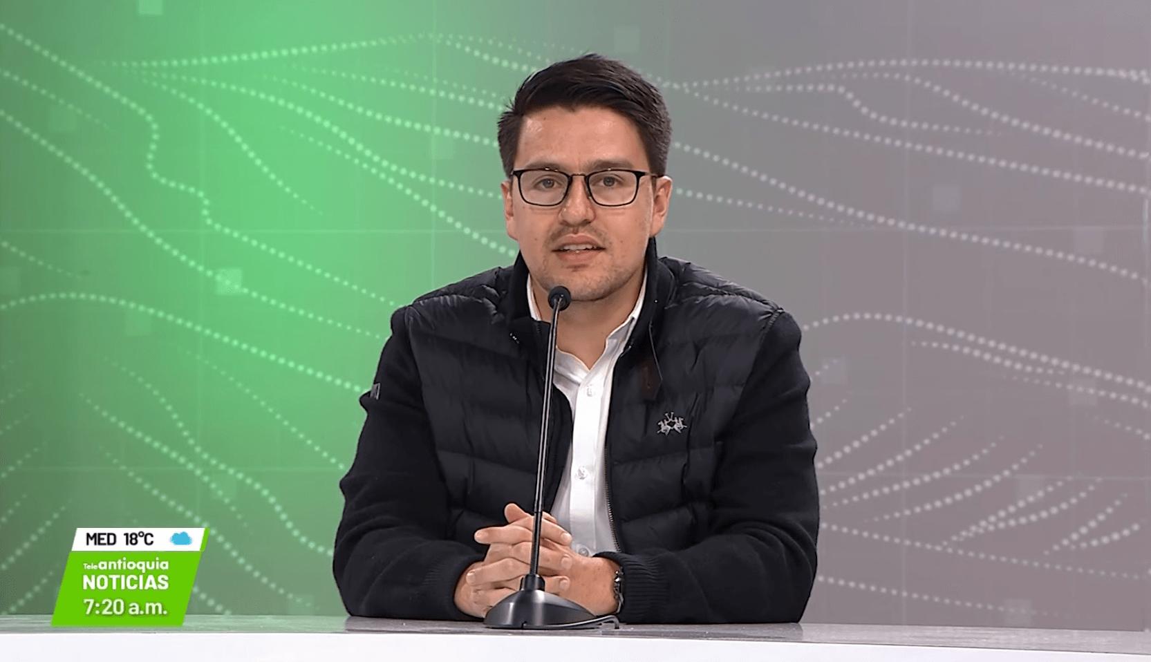Entrevista con Sergio Andrés López, director de Planeación de Medellín