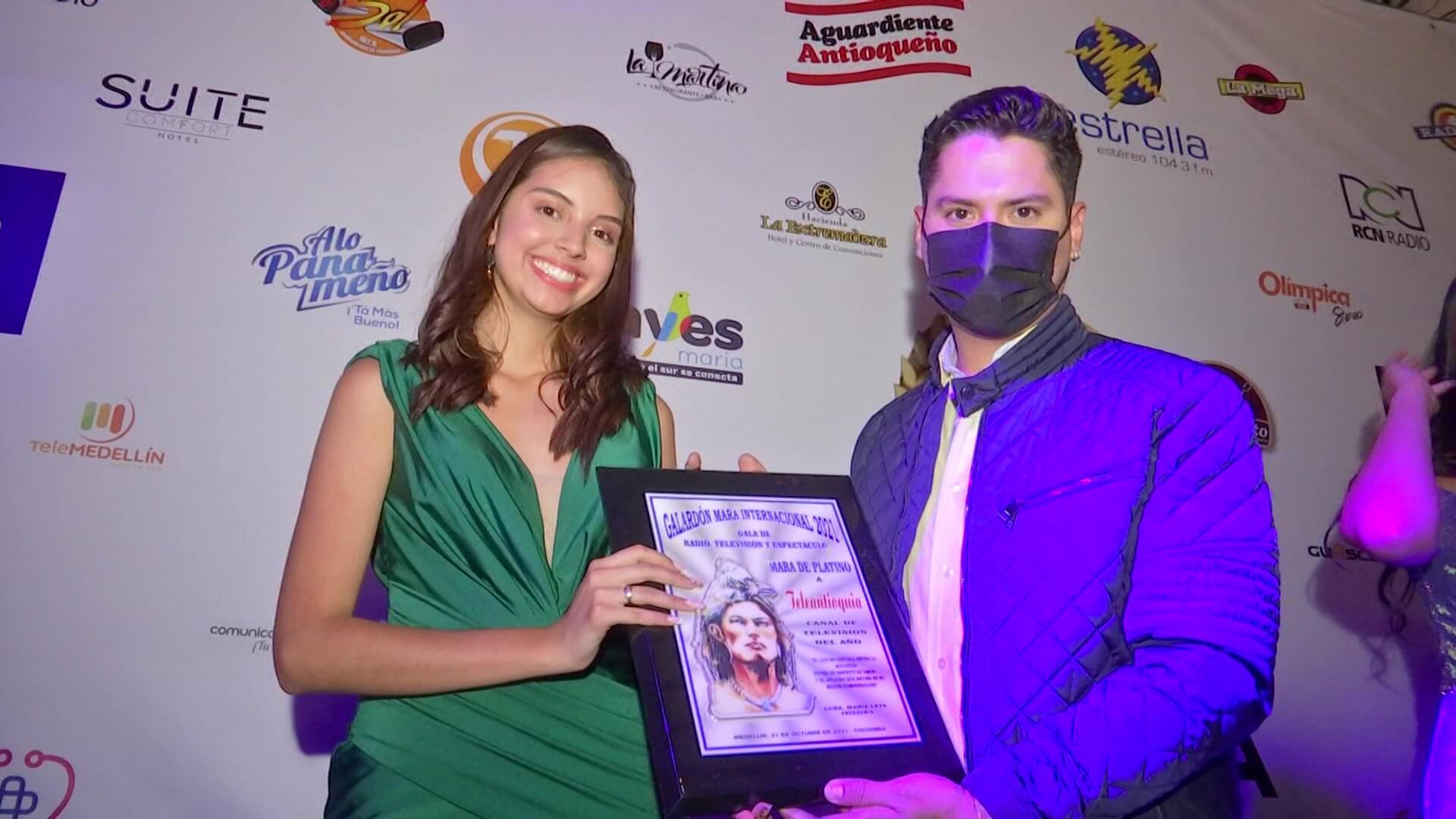 Teleantioquia recibió cuatro Premios Mara Internacional