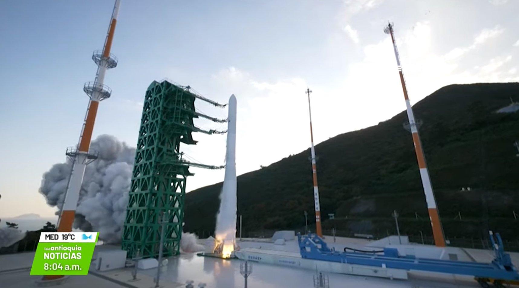 Internacional : Agencia de Corea del Sur envía cohete al espacio