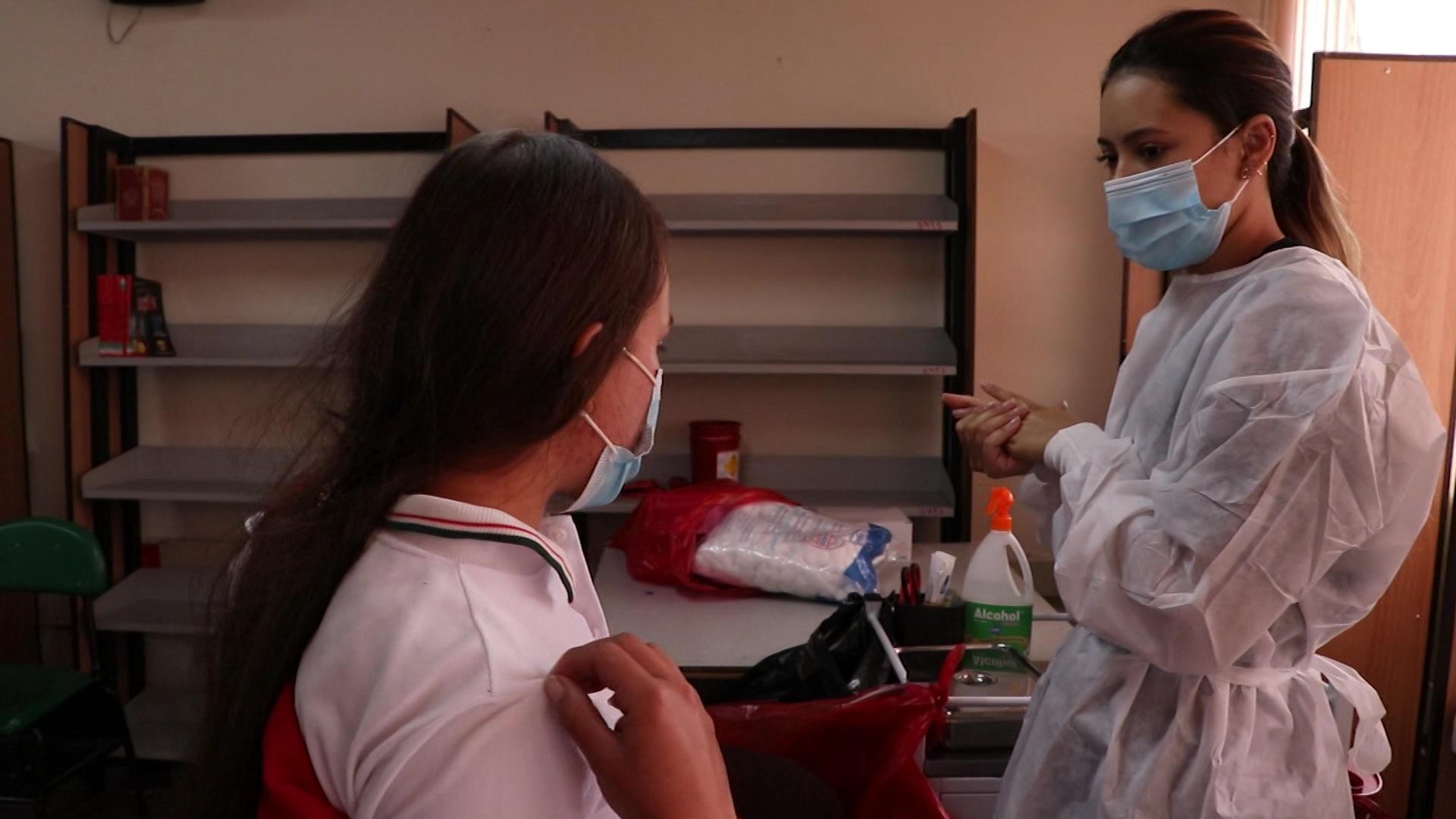 Están listos los protocolos de vacunación en I.E.