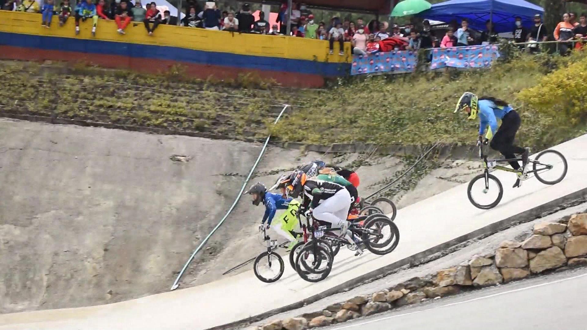 Antioquia dominó las válidas nacionales de BMX