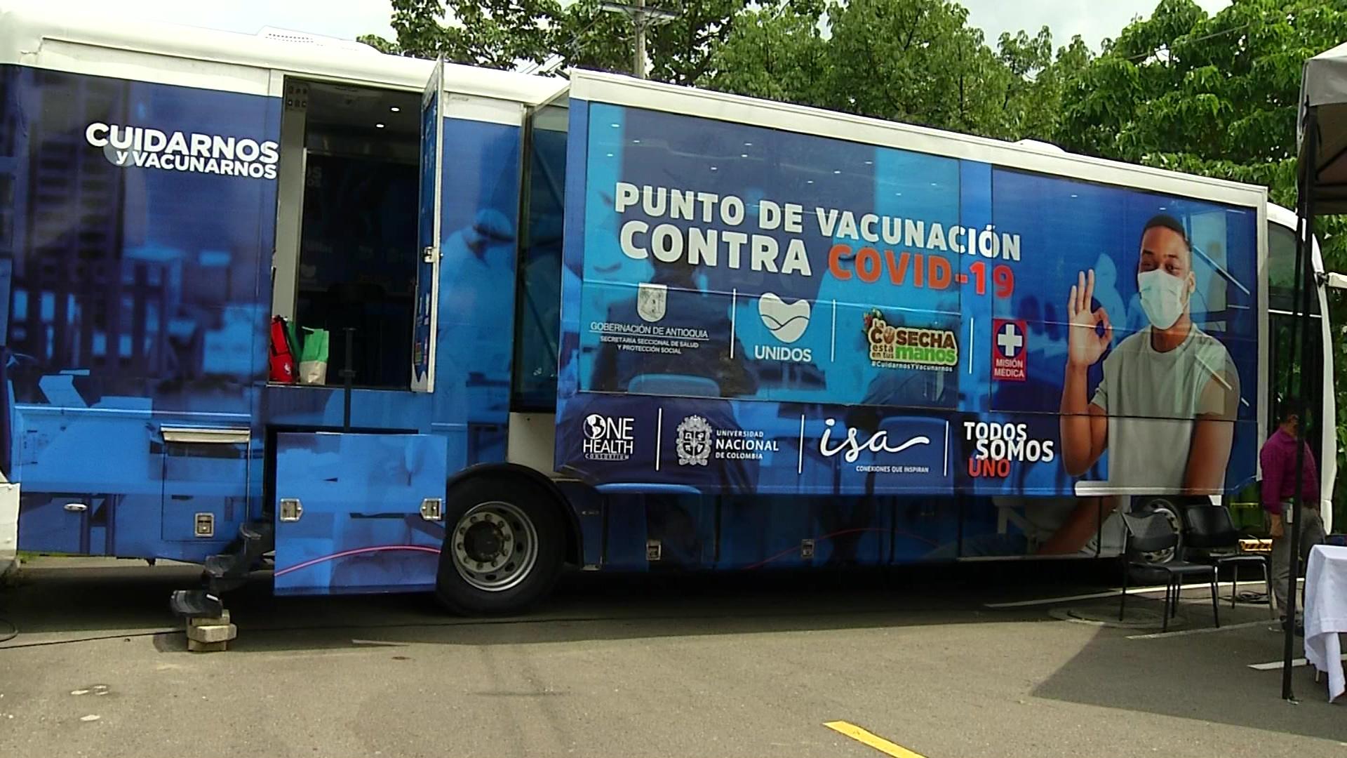 Aulas móviles de vacunación recorrerán los municipios